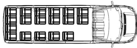 Автобус (20+0+1) 223702 на базе шасси Volkswagen Crafter 50 GP (Фольксваген Крафтер ГП 50)